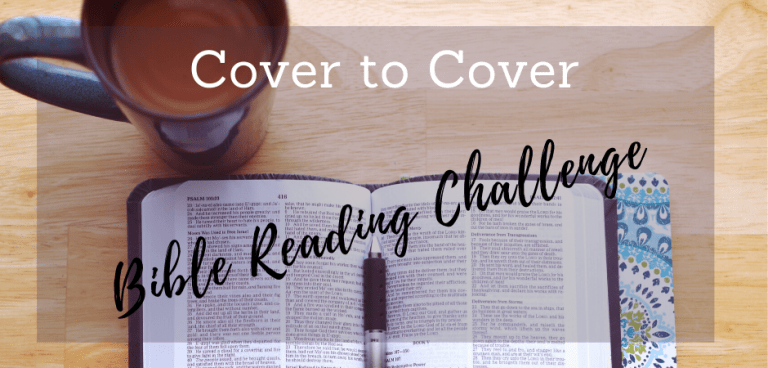 Cover to Cover Bible Reading Challenge