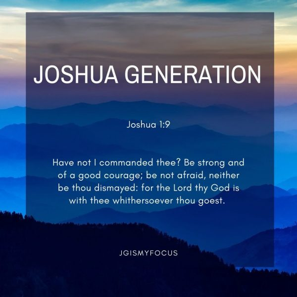 joshua generation quote